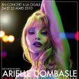 Live Glam Video Show d'Arielle Dombasle