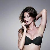 Gisele Bündchen : Plus parfaite que jamais, cinq mois après son accouchement, pour sublimer la lingerie Hope...