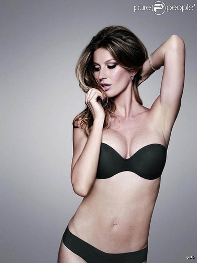 Gisele Bündchen pour la marque de lingerie brésilienne Hope (shooting : avril 2010)