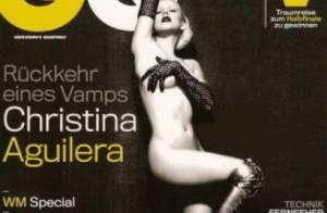 Christina Aguilera : Même nue, elle reste une vraie modeuse !