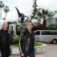 Nikos arrive à l'hôtel Majestic, à Cannes, le 13 mai 2010