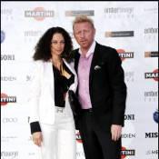 Boris Becker et sa femme Lilly volent la vedette à une Liz Hurley pourtant très sexy...