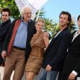 L'équipe du film lors du photocall du film La Princesse de Montpensier de Bertrand Tavernier. Le 16 mai 2010 à Cannes.