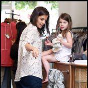Suri Cruise : A 4 ans seulement, c'est elle qui choisit comment s'habillent ses parents !