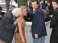 Un tourbillon de bisous souffle sur Cannes... Mélanie Thierry et Evangeline Lilly ont été gâtées !
