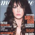 Isabelle Adjani en couverture de Madame Figaro