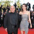 Jean-François Stévenin et Salomé lors du dernier tapis rouge du 63e festival de Cannes le 23 mai 2010