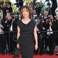 Nathalie Baye lors du dernier tapis rouge du 63e festival de Cannes le 23 mai 2010