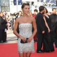 Emma de Caunes lors du dernier tapis rouge du 63e festival de Cannes le 23 mai 2010