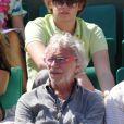 Pierre Richard à Roland Garros le 25 mai 2010 à Paris