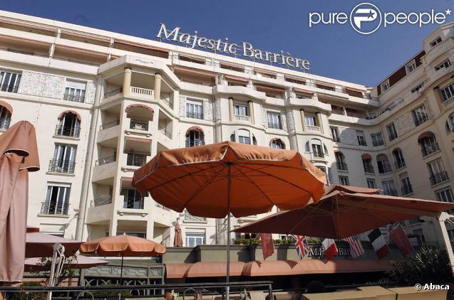 Le Majestic de Cannes s'est payé une petite pub dans le 19/20 de France 3...