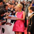 Gwyneth Paltrow dans une robe Prada lors des National Movie Awards à Londres le 26 mai 2010