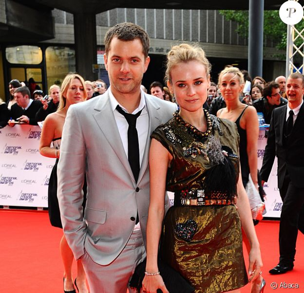 Joshua Jackson et Diane Kruger lors des National Movie Awards à Londres le 26 mai 2010