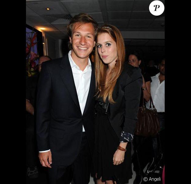 Beatrice et Dave Clark à Londres