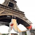 """""""Un record pour Taig Khris, au pied de la Tour Eiffel, le samedi 29 mai."""""""