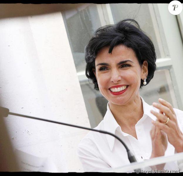 Rachida Dati le 22 mai inaugure le Monoprix de la rue du Bac à Paris VII e