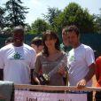 Tournoi des personnalités, vendredi 4 juin 2010 : Lord Kossity et Nicolas Deuil