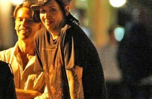 Marilyn Manson : Incroyable ! Avec sa petite amie Evan Rachel Wood, il sourit comme jamais... mais il est bien gros !