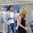 Shakira et le joueur de tennis Fernando Verdasco ont dîné ensemble dans le centre de Madrid le 6 juin 2010