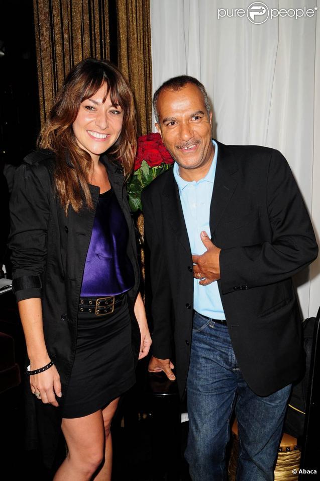 Shirley Bousquet et Pascal Légitimus lors de la Nuit des Médias au théâtre Marigny le 7 juin 2010 à Paris