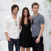 Quand la belle Nina Dobrev de Vampire Diaries fait la fête avec ses vampires et la délicieuse Busy Philipps...