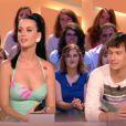 Invitée sur le plateau du  Grand Journal  de Canal+, Katy Perry s'est montrée très démonstrative avec Ramon ( Nouvelle Star 8 ).
