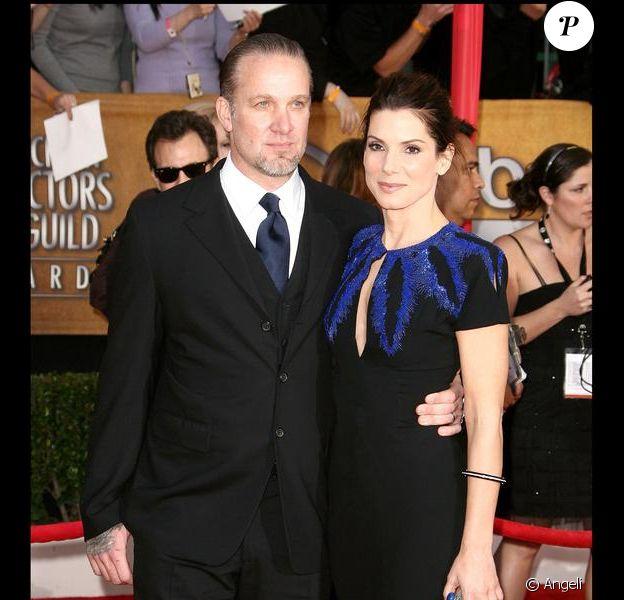 Jesse James et Sandra Bullock en janvier 2010