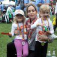 """Eliza Dushku lors de la marche organisée par NSTAR au profit de l'association """"Children's Hospital Boston"""", à Boston le 13 juin 2010"""