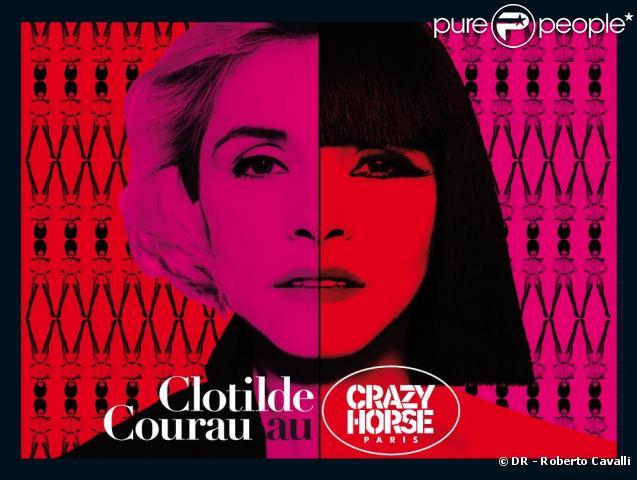 Clotilde Courau sera habillée par Roberto Cavalli pour son show au Crazy Horse, en septembre 2009.