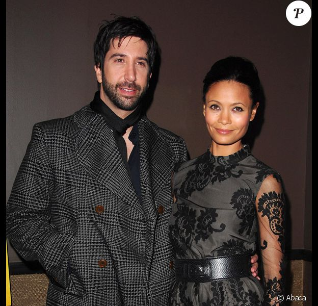 David Schwimmer et Thandie Newton