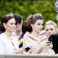 La princesse Letizia lors de la cérémonie de mariage de Victoria de Suède le 19 juin.