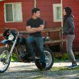 Taylor Lautner et Kristen Stewart dans  Twilight Hésitation .