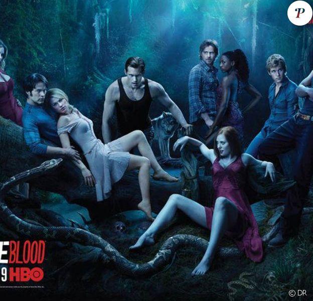 Des images de la saison 2 de la série True Blood, en coffret DVD chez Warner dès le 30 juin 2010.