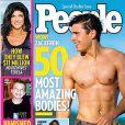 Zac Efron en couverture de du magazine  People .