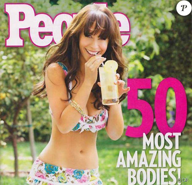 Jennifer Love Hewitt en couverture de du magazine People.