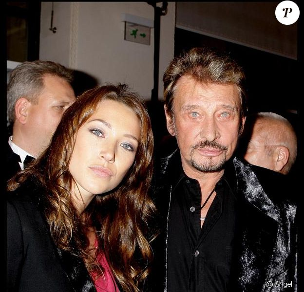 Laura Smet et son papa Johnny Hallyday