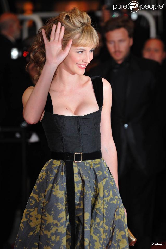Louise Bourgoin, à Cannes, en mai 2010