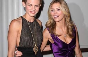AnnaLynne McCord et Angel : les soeurs toujours aussi sexy reçoivent les stars de Glee !