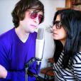 Daven Keller en duo avec Salomé Califano pour une chanson pour le site Dans les yeux d'Alain Delon