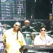 Regardez l'incroyable surprise de Prince à Stevie Wonder !