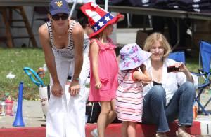Jennifer Garner et ses deux filles craquantes : l'adorable Violet semble bien déçue !