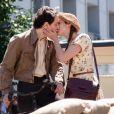 """""""Une image du film Ces amours-là de Claude Lelouch : Audrey Dana et Raphaël """""""
