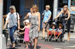 Heidi Klum : ses enfants refusent toujours de quitter leurs poussettes !