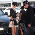 Johnny et Laeticia Hallyday rentrent à Los Angeles. 27 juin 2010