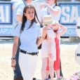 Charlotte Casiraghi au Jumping International de Monaco, 25 juin 2010.