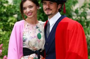 La sublime Miranda Kerr très en beauté... en l'honneur de son séduisant amoureux Orlando Bloom !