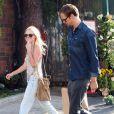 Kate Bosworth et Alexander Skarsgard dans les rues de Los Angeles, le 11 juillet 2010