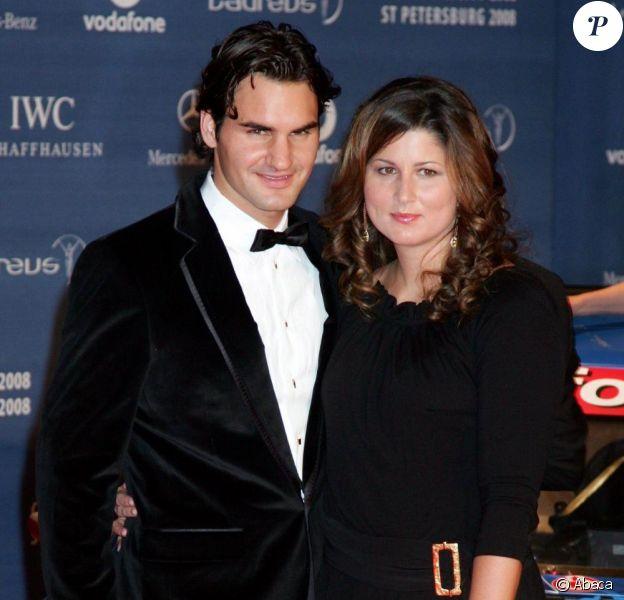 Roger Federer et son épouse Mirka Vavrinec