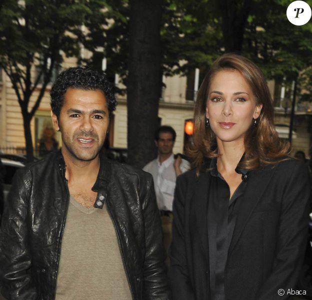 Jamel Debbouze et sa femme Melissa Theuriau, à Paris, le 8 juin 2010.