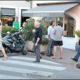 à Saint-Tropez, le 18 juillet 2010.